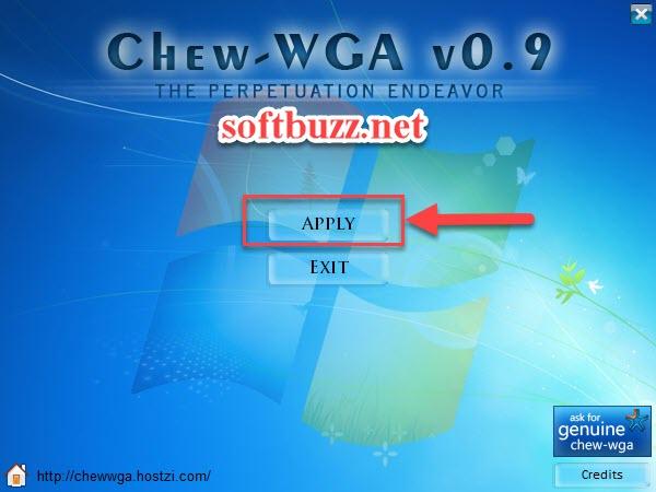 Cách crack Win 7 mọi phiên bản 1 click bằng Chew Wga 2020 3