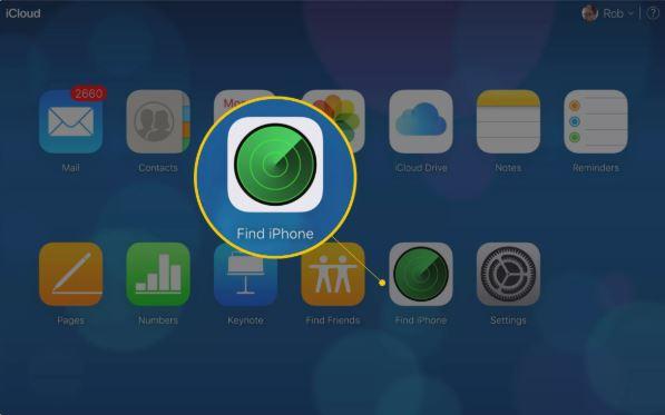 Cách tìm iphone bị mất bằng Icloud với chức năng Find My Iphone 5