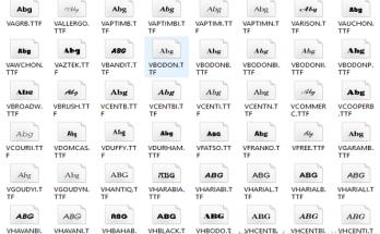 Download Font chữ full 2020 - Cách cài Font chữ Win 10 3