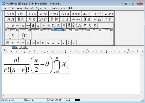 Download Mathtype full key - cách cài mathtype vào word 2010 1