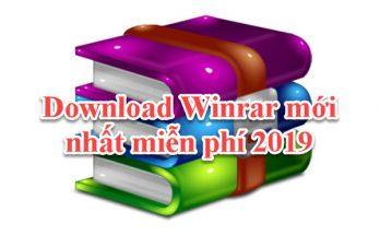 Tải Winrar mới nhất 2020 - phần mềm giải nén tốt nhất