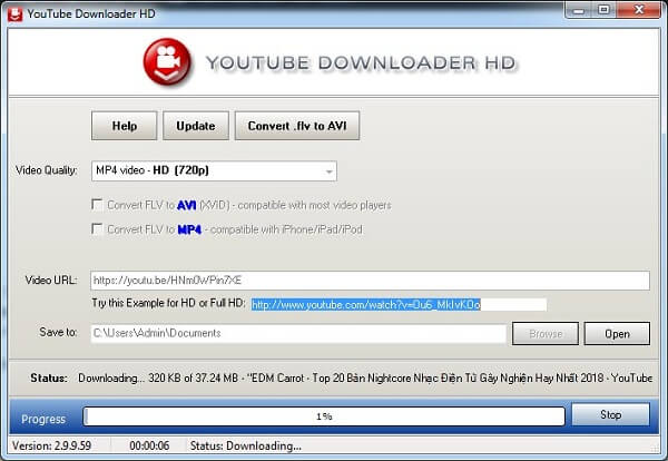 Download Youtube Downloader HD mới nhất 2019 3