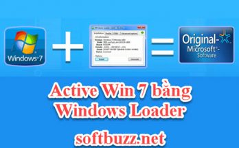 Cách active Win 7 bằng Windows Loader vĩnh viễn 2020 4