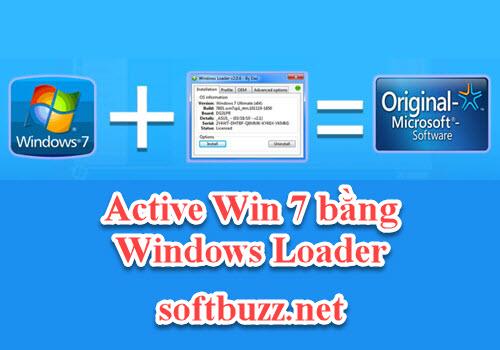 Cách active Win 7 bằng Windows Loader vĩnh viễn 2020 3