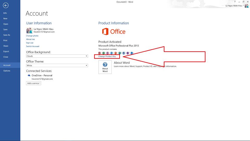 Share Key Office 2013 mới nhất kèm hướng dẫn active 2019 4
