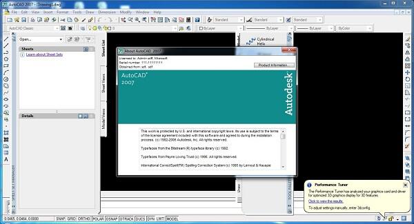 Tải phần mềm Autocad 2007 miễn phí - Cách cài autocad 2007 full 2