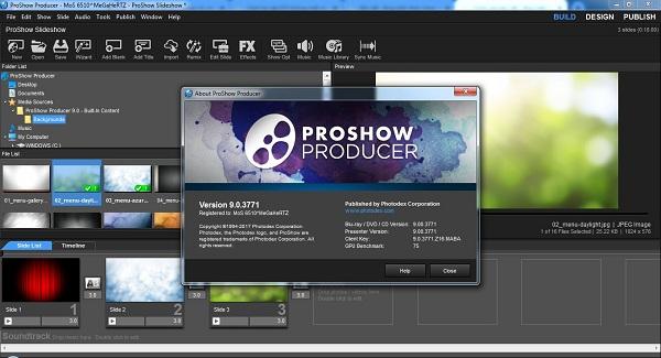 Tải phần mềm Proshow Producer 9 không có dòng chữ vàng mới nhất 2019 2
