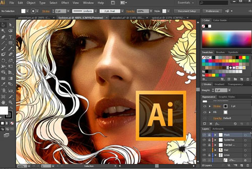 Tải Adobe Illustrator CS6 Portable + Setup Google Drive