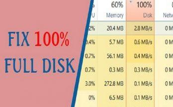 Share 8 cách sửa lỗi full disk win 10 hiệu quả nhất 2019 2