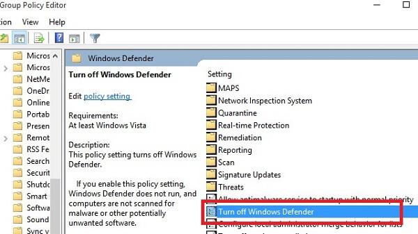 Cách tắt Windows Defender trong Win 10 vĩnh viễn chi tiết nhất 2019 10
