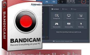 Download bandicam portable / key - Phần mềm quay màn hình máy tính nhẹ nhất 2019 4