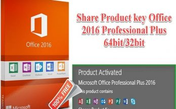Share Product Key Office 2016 Professional Plus 2020 free