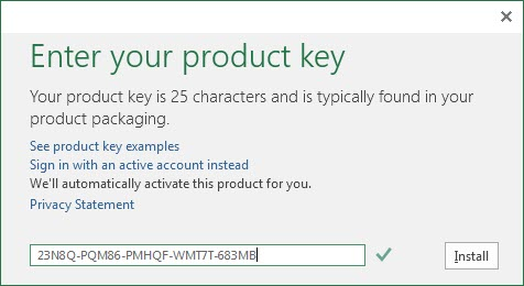 Share Product Key Office 2016 Professional Plus 64bit mới nhất 2019 3