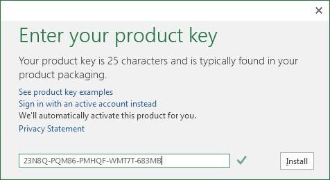 Share Product Key Office 2016 Professional Plus 64bit mới nhất 2019 1