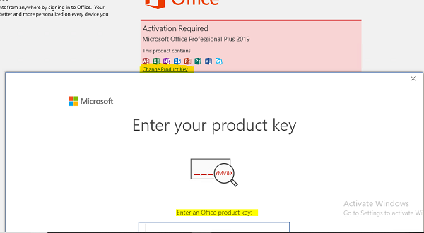 Share Product Key Office 2019 Professional Plus vĩnh viễn