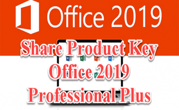 Share Product Key Office 2019 Professional Plus vĩnh viễn 31