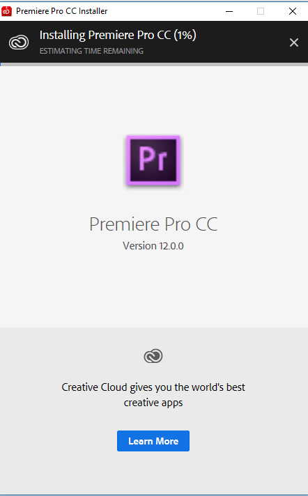 Tải Adobe Premiere Pro CC 2018 full Google Drive + Hướng dẫn cài đặt Premiere Pro 2018 3
