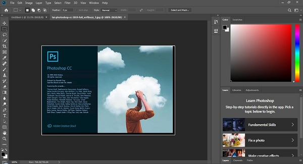 Tải Photoshop CC 2019 Portable + Setup link google drive 1