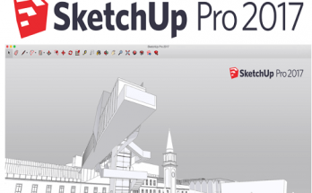 Tải Sketchup 2017 full 64bit + Vray 3.4 Sketchup 2017 8