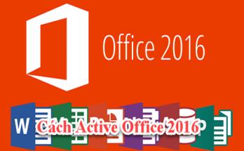 #2 Cách active office 2016 professional plus 2020 vĩnh viễn