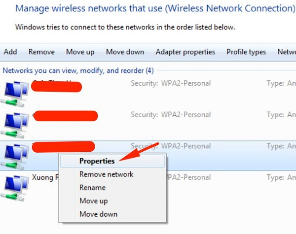 Cách xem pass wifi win 10, win 8, win 7 đơn giản nhất