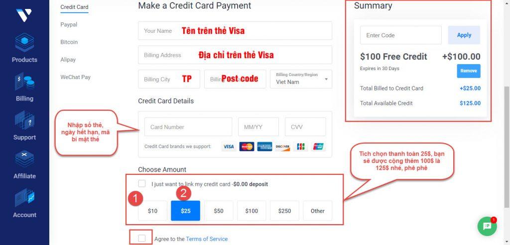 VPS là gì  và & Cách tạo VPS Vultr free 100$ như thế nào ?