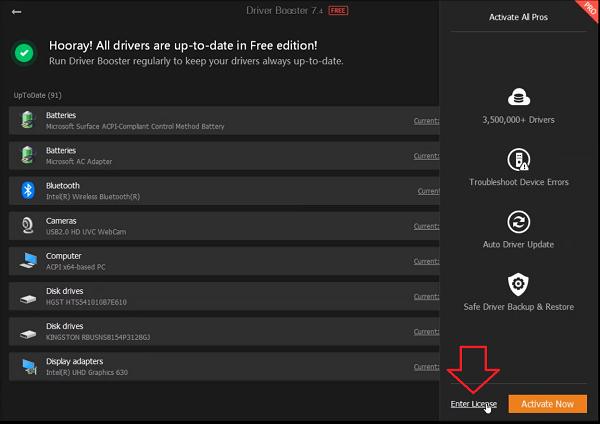 Tải Driver Booster 7.5 - phần mềm cập nhật Driver tự động