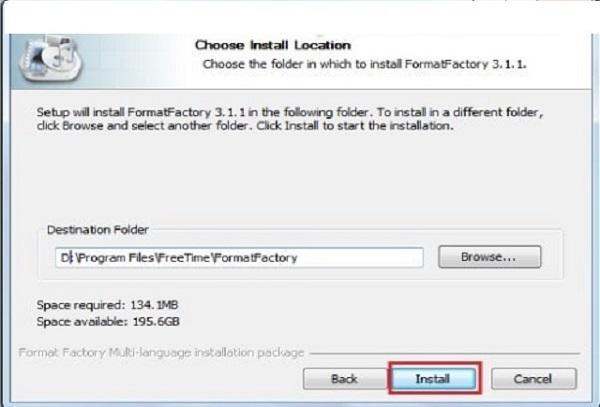 Tải Format Factory full - phần mềm đổi đuôi video 2020