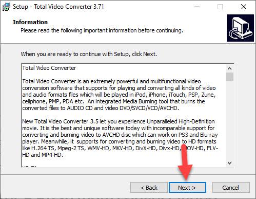 Tải Total Video Converter 3.71 full - phần mềm đổi đuôi video tốt nhất