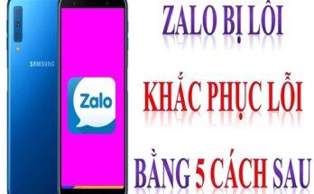 Các lỗi Zalo thường gặp và cách khắc phục Zalo bị lỗi hiệu quả