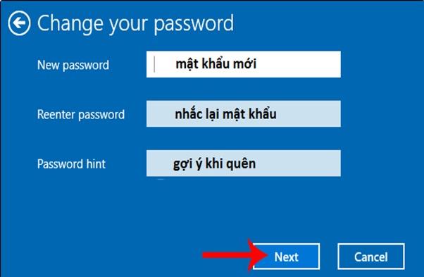 Cách cài mật khẩu máy tính win 10, win 7 đơn giản nhất