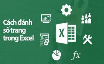 Hướng dẫn cách đánh số trang trong Excel 2010 đơn giản nhất