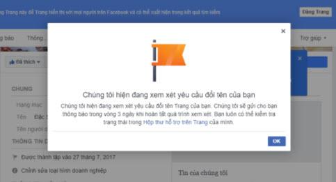 Cách đổi tên trang Facebook 2020 và một số lưu ý khi đổi tên page