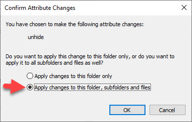 Cách hiện file ẩn Win 10, win 7 đơn giản không dùng phần mềm