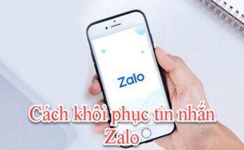 2 cách khôi phục tin nhắn Zalo 2020 chi tiết nhất