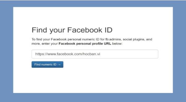 [Thủ thuật] Cách lấy ID Facebook cá nhân, Fanpage đơn giản nhất