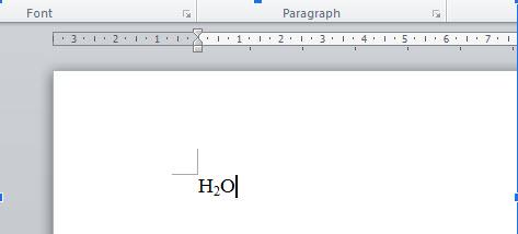 5 cách viết sỗ mũ trong Word 2010 đơn giản, chi tiết nhất