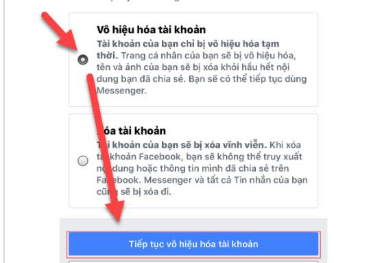 Cách vô hiệu hóa Messenger, Facebook tạm thời chi tiết nhất 2020