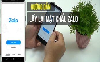 Quên mật khẩu Zalo và cách lấy lại mk Zalo miễn phí 2020