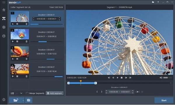 Tải Bandicut full key - Phần mềm cắt video tốt nhất 2020