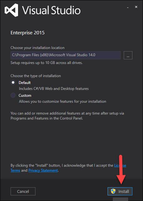 Download Visual Studio 2015 full key kích hoạt vĩnh viễn