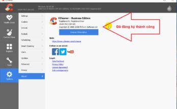 Tải CCleaner Professional Full 2021 Vĩnh Viễn +Google Drive